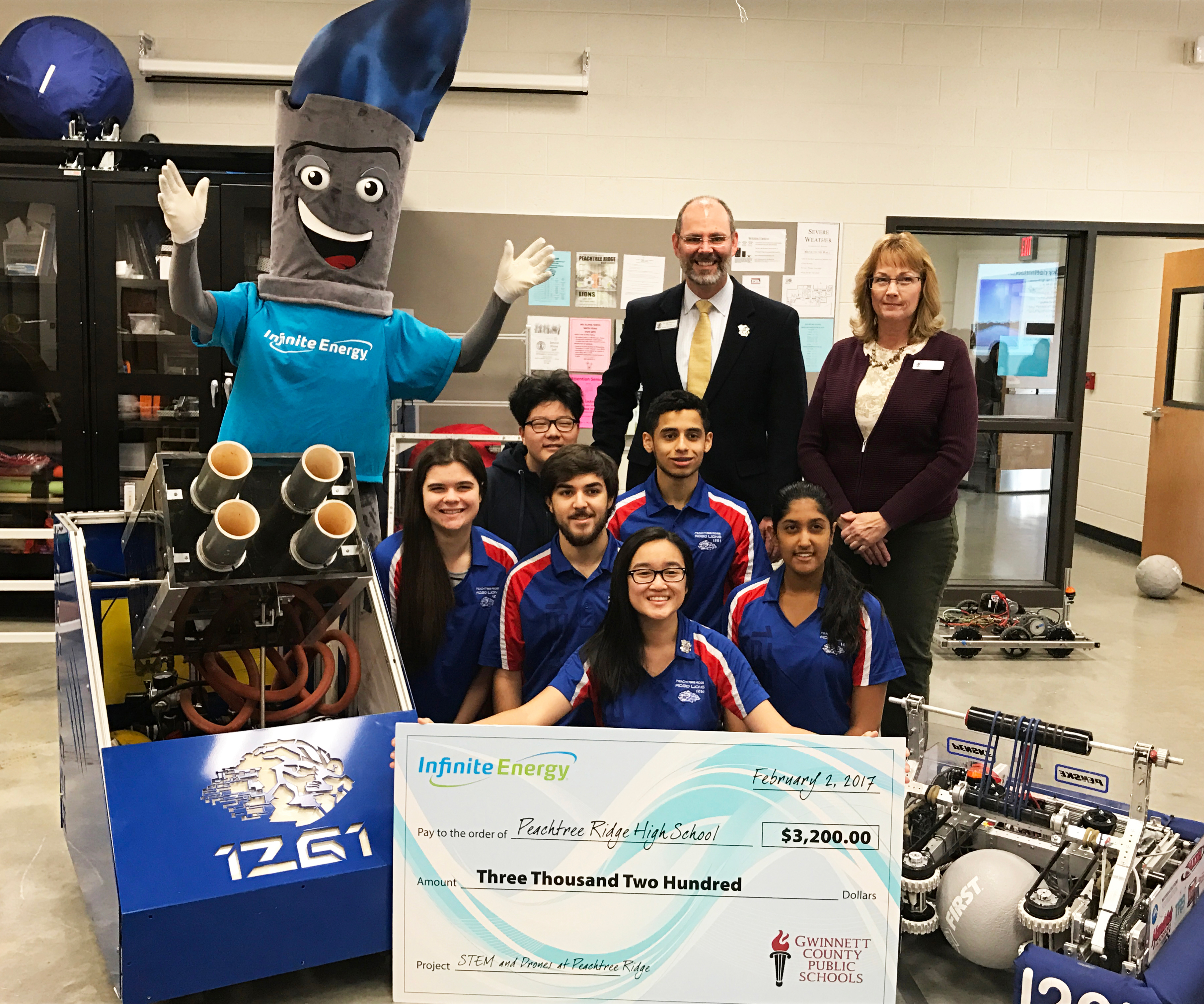 Infinite Energy Natural Gas provides STEAM grants