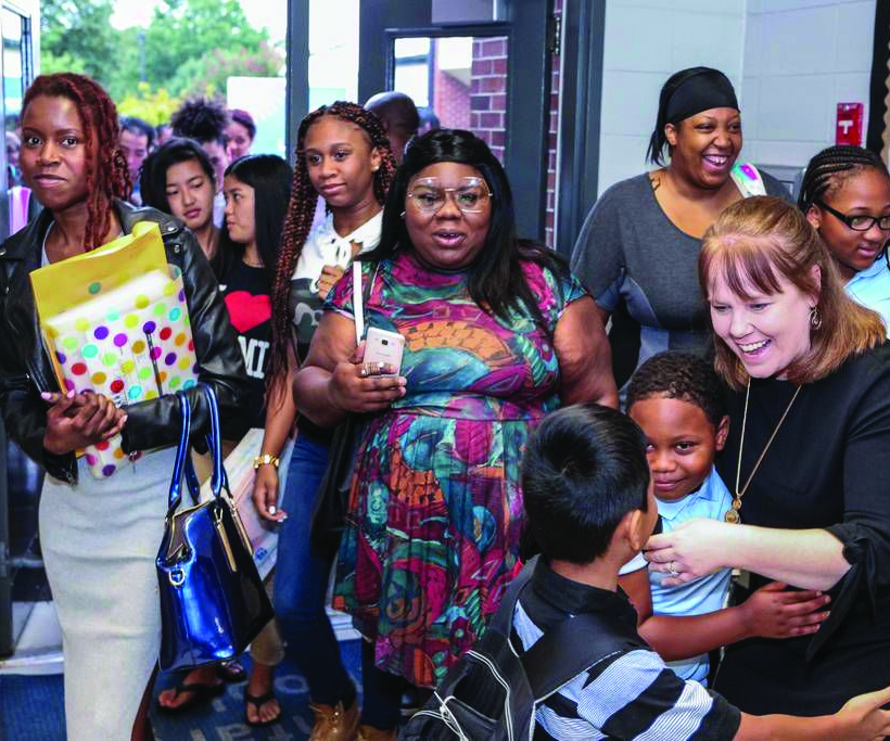'Excitement in the air' as GCPS begins new school year