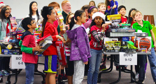 North Gwinnett cluster contributes thousands for Toys for Tots