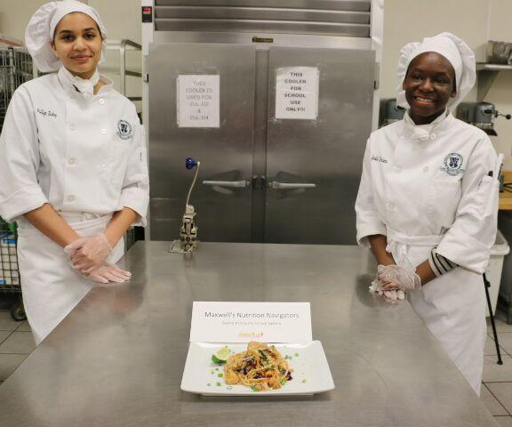 Maxwell students win scholarships in state cooking competition