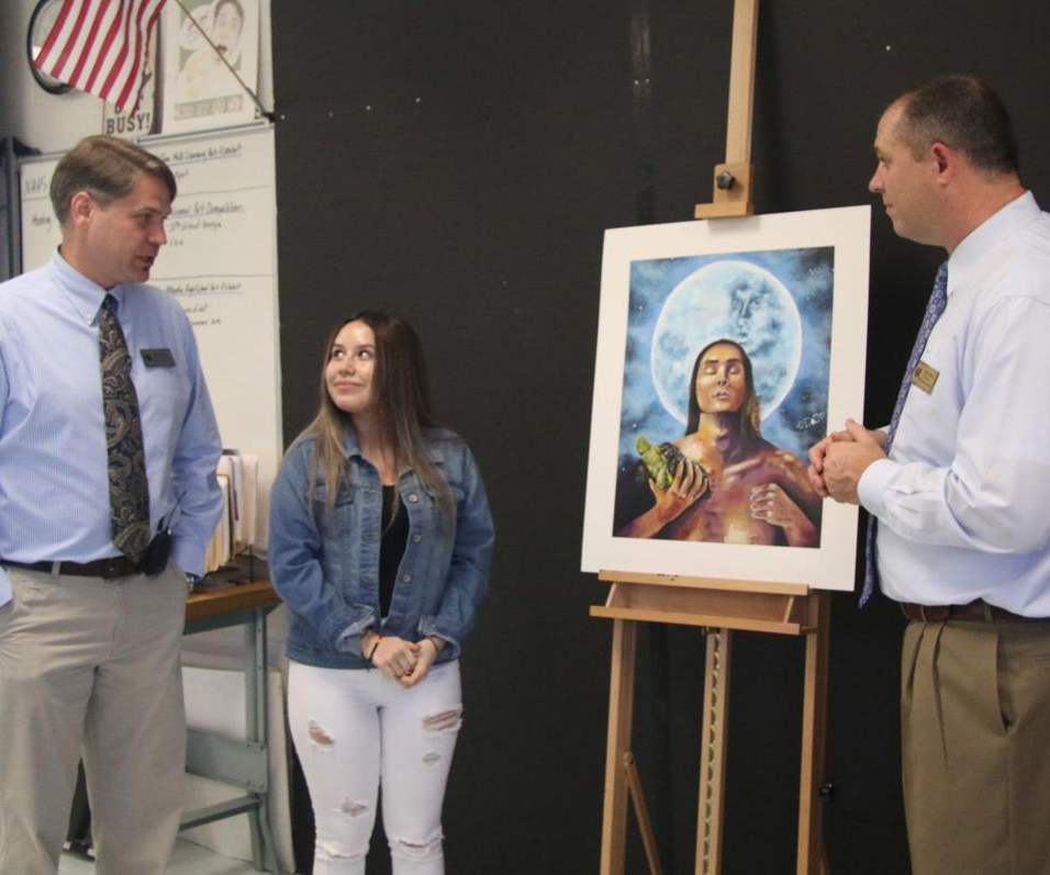 Mill Creek student's painting earns $6,000 scholarship