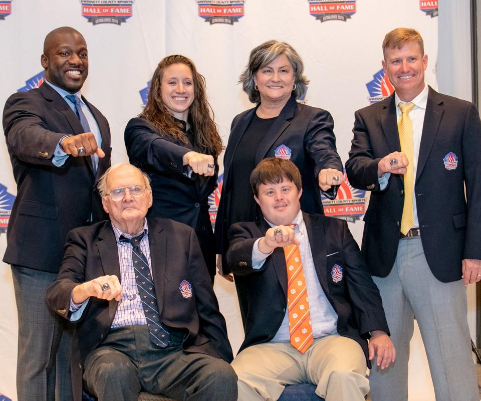 Nick Saban helps Gwinnett County Sports Hall of Fame induct latest class