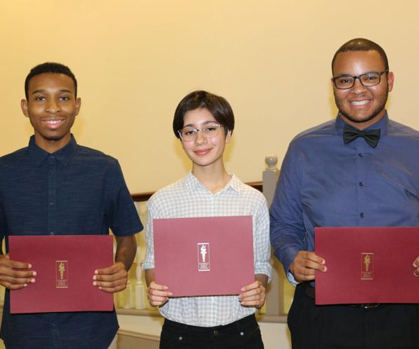 Six GCPS students recognized for career perfect attendance