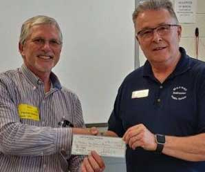 Maxwell Fire Services Program receives $1,000 donation