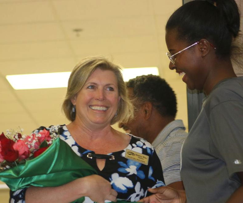 Collins Hill's Kerensa Wing named National Principal of the Year