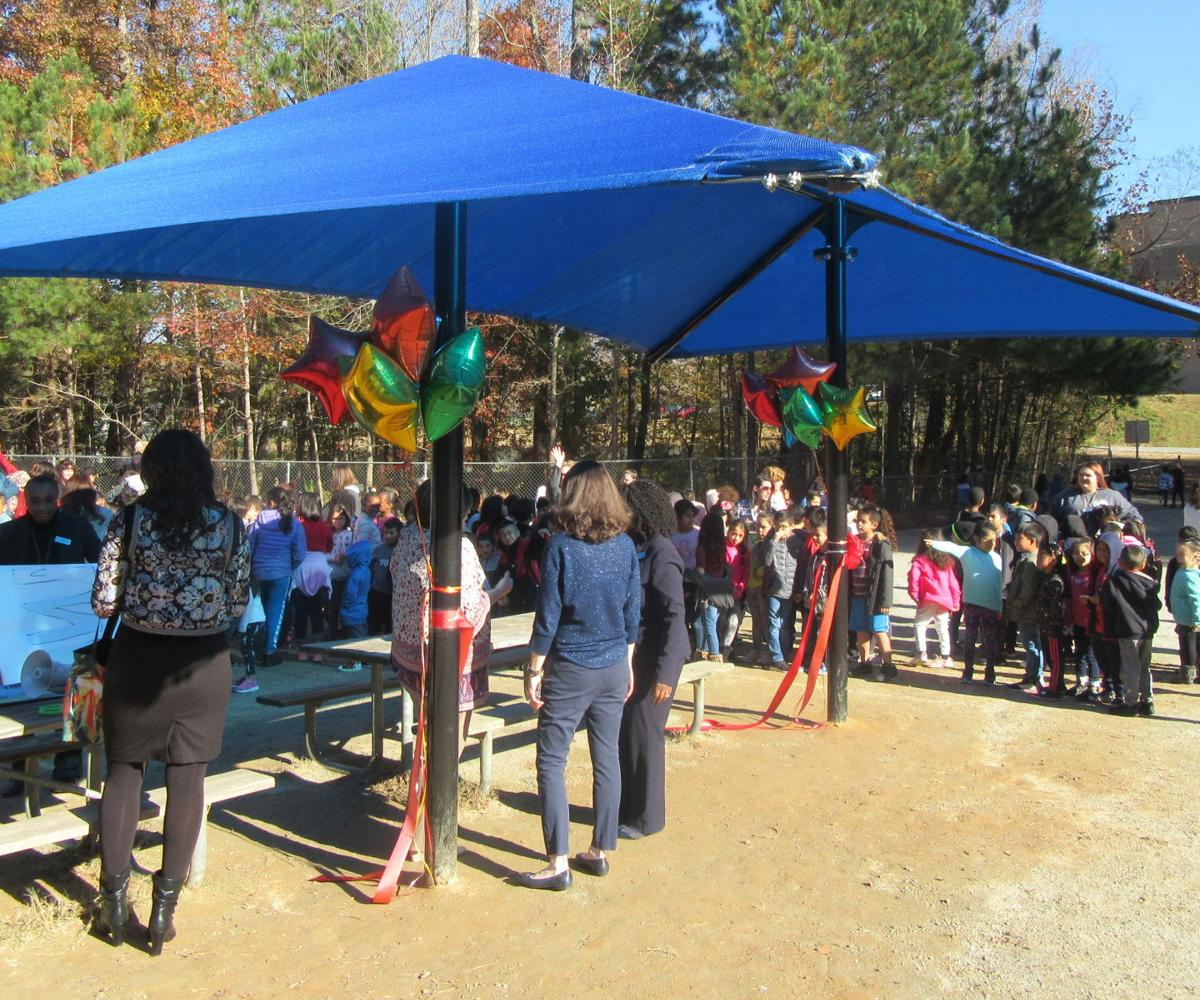 Lilburn Elementary School awarded shade structure with grant
