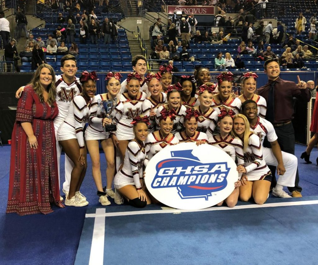 Mill Creek cheer team dedicates state championship to late former coach, Ashley Taube By Taylor Denman taylor.denman@gwinnettdailypost.com 22 hrs ago