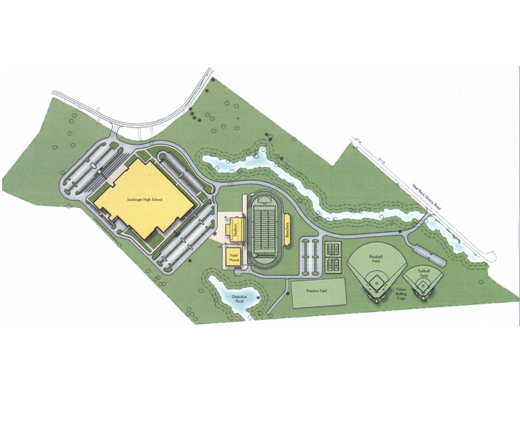 GCPS offers first look at site plan for new Seckinger High School