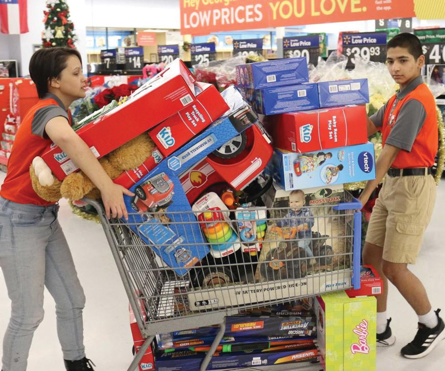 Parkview JROTC contributes more than $80,000 in toys and donations to Toys for Tots