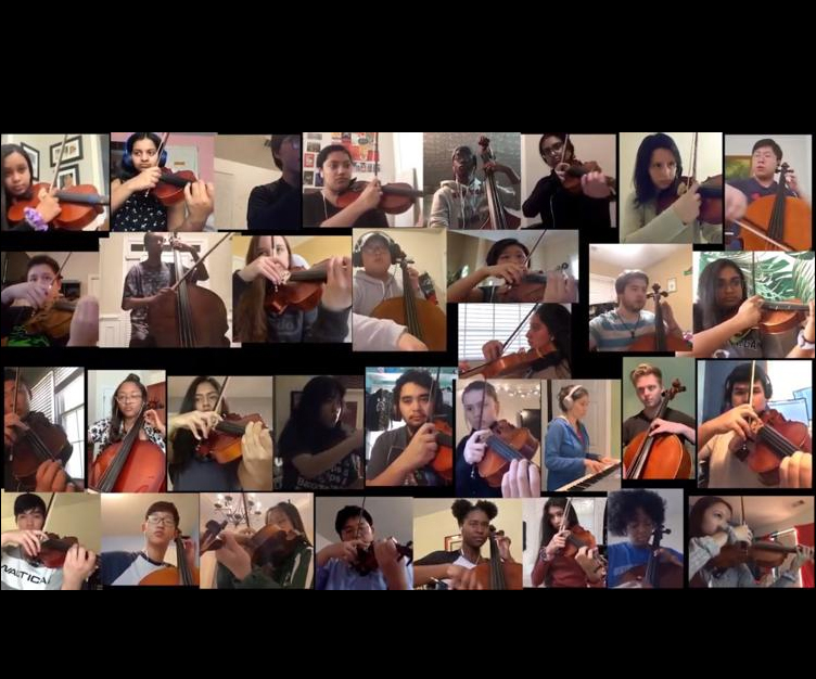 Collins Hill High School orchestra is a YouTube sensation with virtual performance