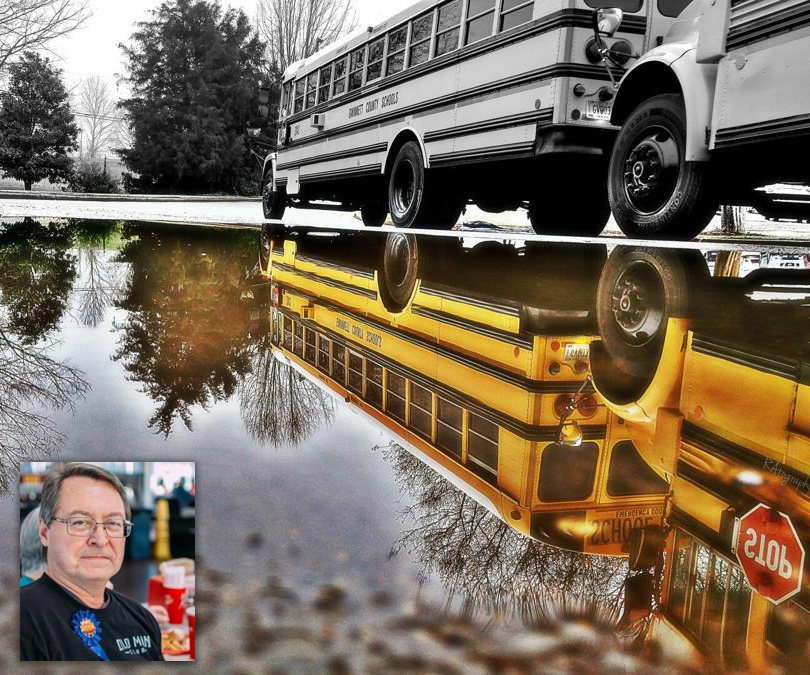 A driving passion — Gwinnett County Public Schools bus driver wins national photo contest
