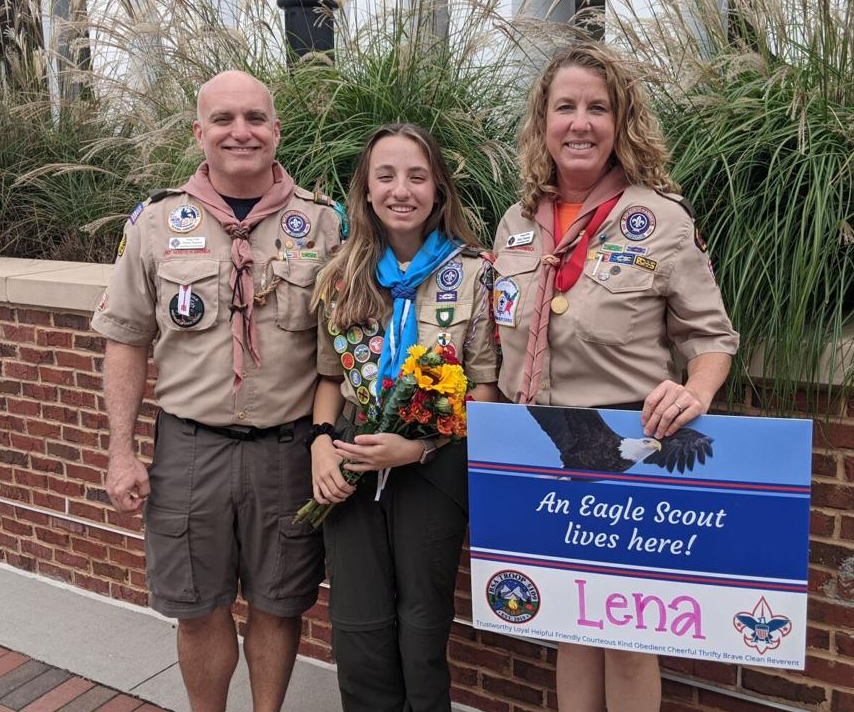 Mother-daughter duo blaze the trail for female Eagle Scouts in Gwinnett County