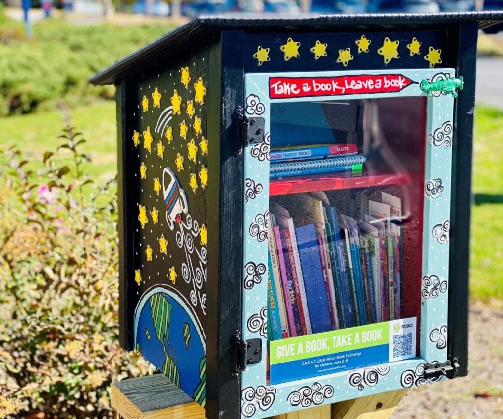 Eastside Medical Center becomes home to G.R.E.A.T. Little Minds book exchange