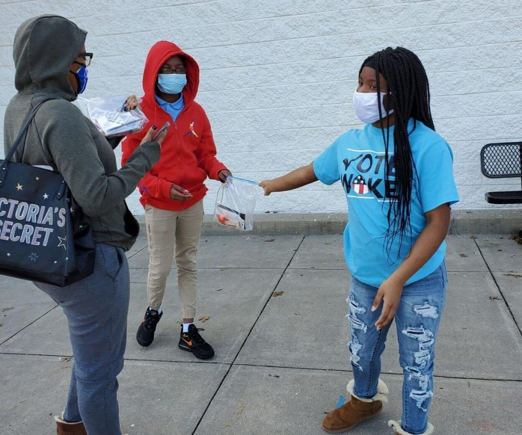 Voter registration drive gets Meadowcreek High students energized for run-off, beyond