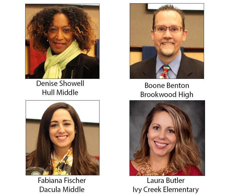 Counselors honored by Gwinnett County Public Schools
