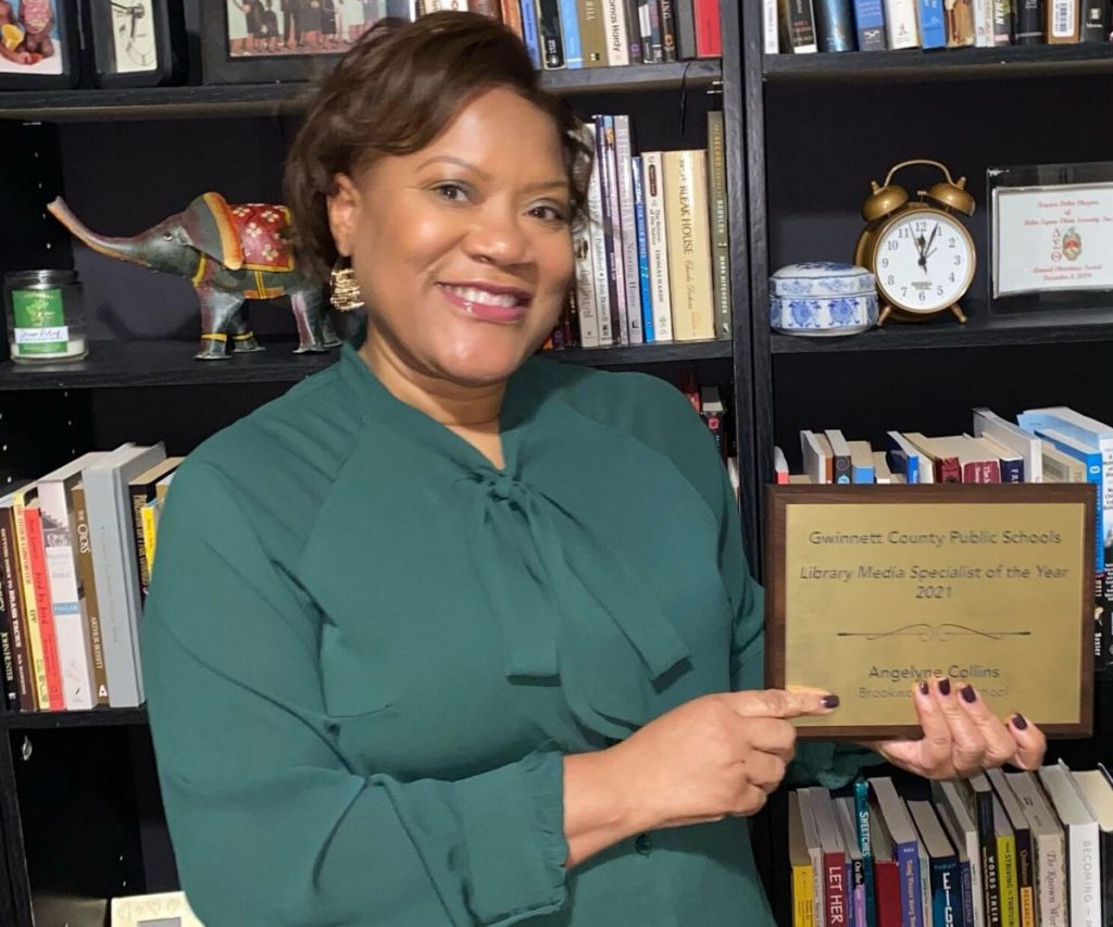 Brookwood High School's Angelyne Collins named GCPS Media Specialist of the Year