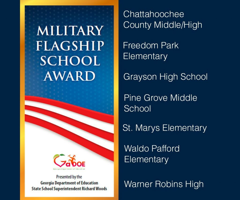 Grayson High School honored as Military Flagship School