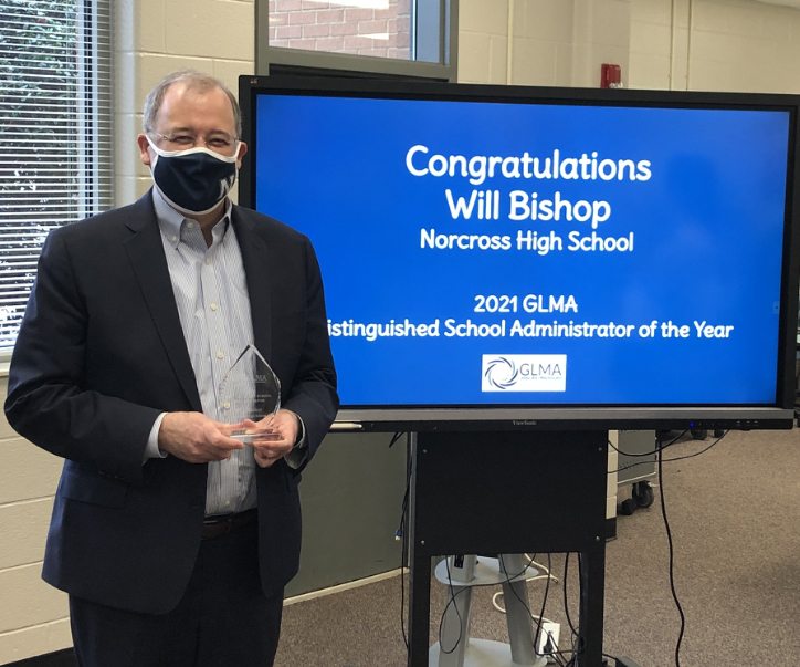 Norcross High School principal wins Distinguished School Administrator Award