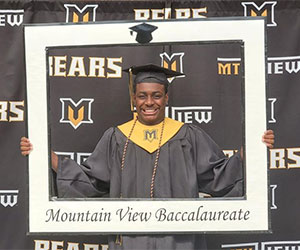 Mountain View High School grad earns Foresters Financial scholarship