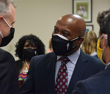 Community shares expectations for new Gwinnett schools Superintendent Calvin Watts at his first school board meeting