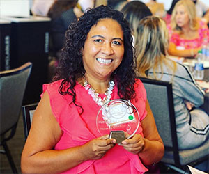 GCPS educator Nury Castillo Crawford named to list of most influential Latinos in state